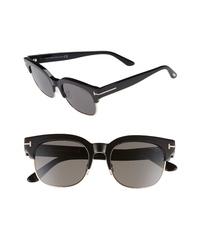 Tom Ford Harry 53mm Half Rim Sunglasses