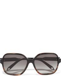 Victoria Beckham Iconic Square Frame Acetate Sunglasses Black