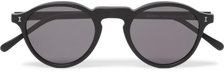 Illesteva Illesteva Capri Round-Frame Acetate Sunglasses | Where to ...