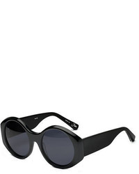Elizabeth and James Jane Round Monochromatic Sunglasses