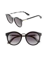 kate spade new york Joylyn 50mm Round Sunglasses