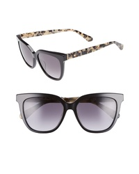 kate spade new york Kahli 53mm Cat Eye Sunglasses