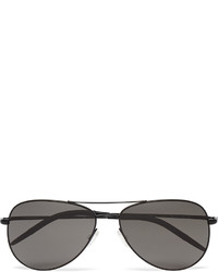 Oliver Peoples Kannon Aviator Style Metal Sunglasses