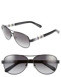 Kate Spade New York Dalia 58mm Aviator Sunglasses