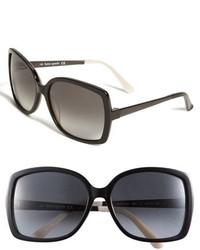 Kate Spade New York Darryl 59mm Sunglasses Brown Grey