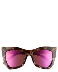 Le Specs Kick It 54mm Sunglasses Pebble