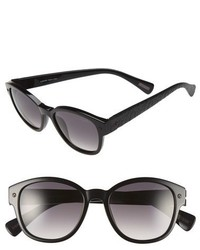 Lanvin 50mm Retro Sunglasses Black