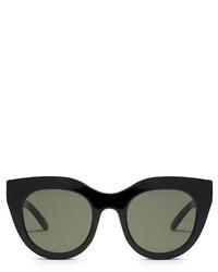 Le Specs Air Heart Cat Eye Frame Sunglasses
