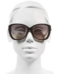 fc5bb94a7c1 ... Tom Ford Linda 59mm Special Fit Butterfly Sunglasses Brown Wattle Gradient  Brown