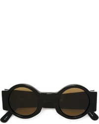 Linda Farrow Gallery Dries Van Noten Round Sunglasses