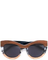 Linda Farrow Gallery Marble Frame Sunglasses