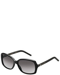 Marc Jacobs Rectangular Gradient Sunglasses Black