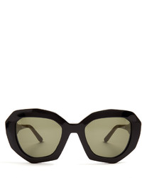 Marni Angular Cat Eye Acetate Sunglasses