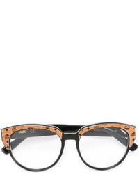 MCM Logo Oval Frame Sunglasses