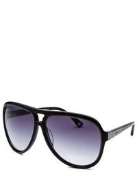 Michael Kors Michl Kors Isla Aviator Black Sunglasses