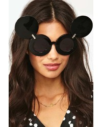 Nasty Gal Jeremy Scott X Linda Farrow Mickey Shades