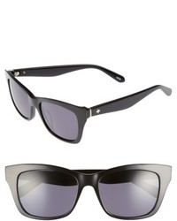 Kate Spade New York Jen 53mm Sunglasses Black
