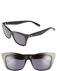 Kate Spade New York Jen 53mm Sunglasses Black