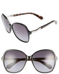 Kate Spade New York Jolyn 58mm Gradient Lens Sunglasses Black