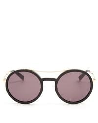 Max Mara Oblo Round Frame Sunglasses