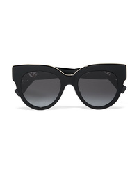 Fendi Oversized Cat Eye Acetate Sunglasses