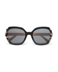 Prada Oversized Square Frame Acetate Sunglasses