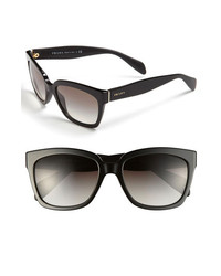 Prada 56mm Sunglasses Black One Size