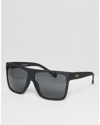 Quay Australia Barnun Oversized Smoke Lens Sunglasses