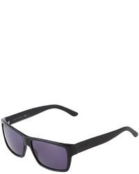 Gucci Rectangle Acetate Sunglasses Black