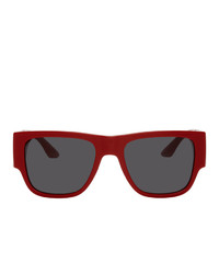 Versace Red Square Sunglasses