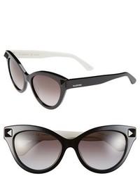 Valentino Rockstud 53mm Cat Eye Sunglasses