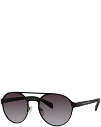 Marc by Marc Jacobs Round Double Bridge Sunglasses