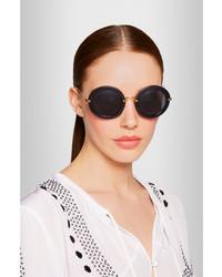 Net Frame A 390 Porter Round Acetate com Sunglasses Miu 5Xq41nw