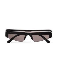 Balenciaga Ski D Frame Acetate Sunglasses