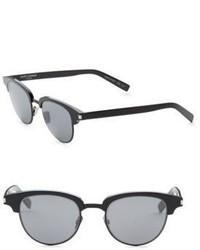 Saint Laurent Slim 001 52mm Oval Sunglasses