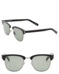 Saint Laurent Slim 003 52mm Wayfarer Sunglasses