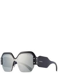 Miu Miu Sorbet Square Wrap Around Sunglasses