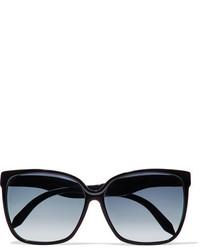 Victoria Beckham Square Frame Acetate Sunglasses Black