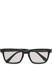 Brioni Square Frame Acetate Sunglasses