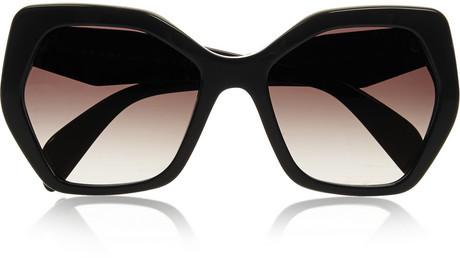 bacaae4d206 ... Prada Square Frame Acetate Sunglasses ...
