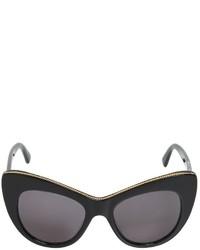 Stella McCartney Chained Cat Eye Acetate Sunglasses