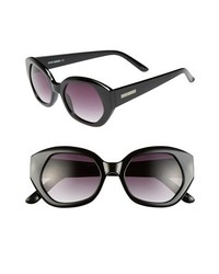 Steve Madden 52mm Sunglasses Black One Size