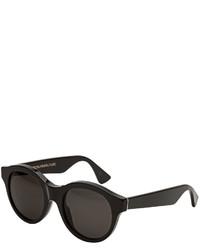 RetroSuperFuture Super By Mona Round Sunglasses Black