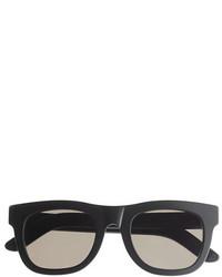 Super Tm Ciccio Sunglasses In Black Matte