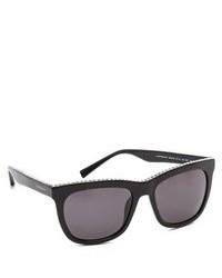 Givenchy Swarovski Crystal Rim Sunglasses