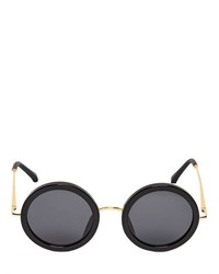 The Row Big Round Acetate Sunglasses