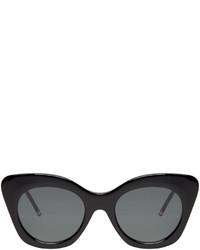 Thom Browne Black Cat Eye Sunglasses