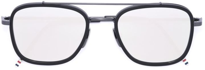 Thom Browne Square Frame Sunglasses   Where to buy & how to wear