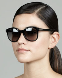 Tom Ford Riley Sunglasses Shiny Black
