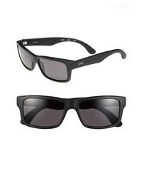 Toms Culver 56mm Sunglasses Matte Black None